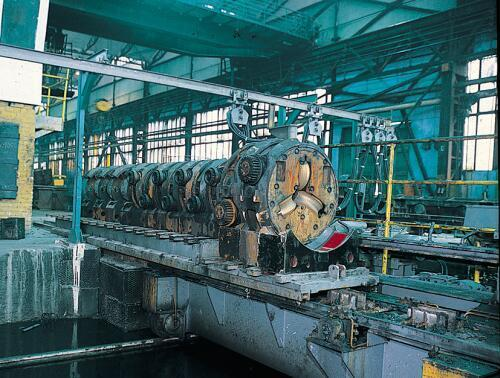 1 STRETCHING: Continuous Mill Stretching and final dimensions are obtained through a continuous mill or a reducing and stretching mill.