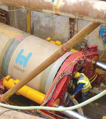Curved Drive with HOBAS Pipes De 2160 in Paris (France) On the south bank of the river Seine, 205 m Hobas GRP