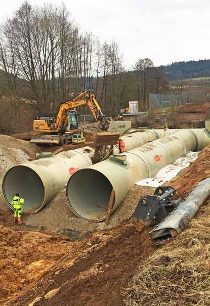 sewer pressure pipeline FOR WILHELMSHAVEN (germany) As part of a major infrastructure project in the German city
