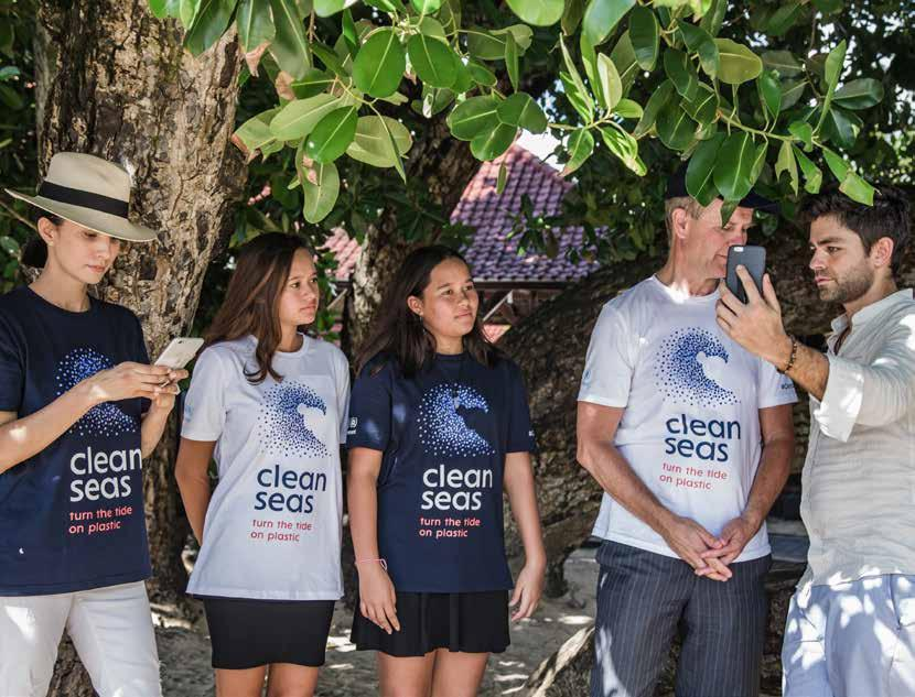 The #CleanSeas Campaign UN Environment launched #CleanSeas in February 2017, with the aim of engaging governments, the general public, civil society and the private sector in the fight against marine