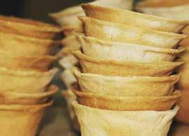 Case study 14 Producing edible plates and cutlery from cereal crops In many cultures it has been common practice to use foods such as flatbreads, made of wheat or maize flour, as a means of eating in