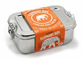 6. ALTERNATIVE MATERIALS RE-USABLE OBJECTS The Elephant Box company Plastic boxes are often used as a convenient and practical way to store food.