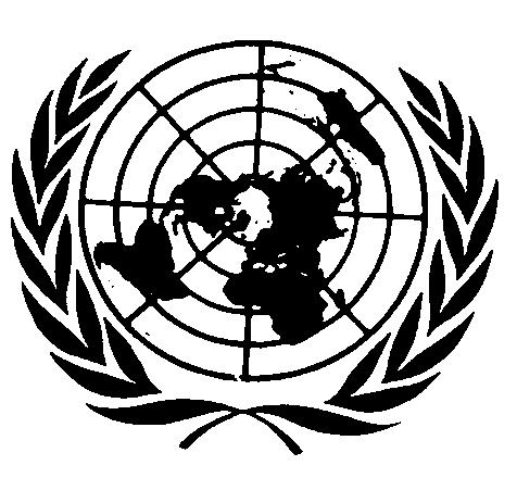 UNITED NATIONS Distr.