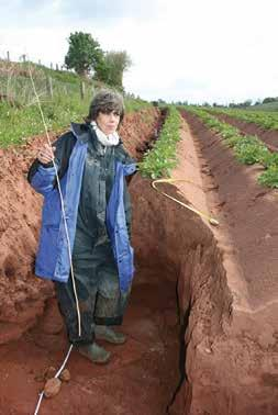 Current projects include Soil Strategies to Inform Soil Protection Policy, The Total Costs of Soil Degradation, Cost Effective Monitoring of Soil Erosion in England and Wales and Soil Quality