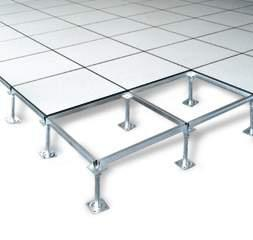 Anti-static Raised Access Floor Anti-static raised access floor panels are widely used in computer rooms. This access floor system has excellent anti-static performance.