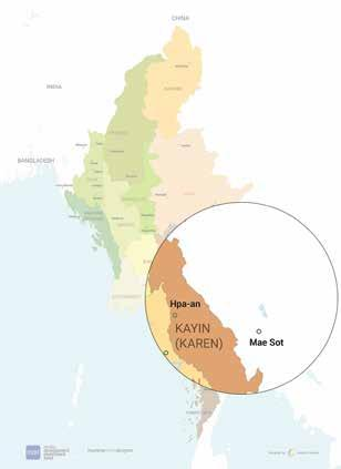 agreement was signed between the Myanmar government and the Karen National Union in January 2012.