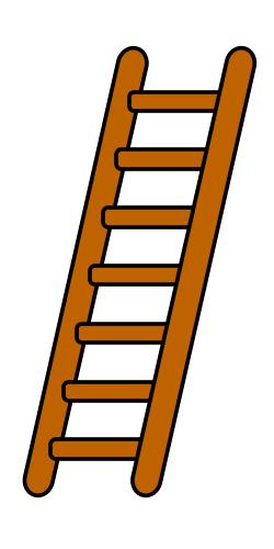 DNA Double Helix Twisted Ladder Rungs of ladder are Nitrogenous base pairs held together by weak