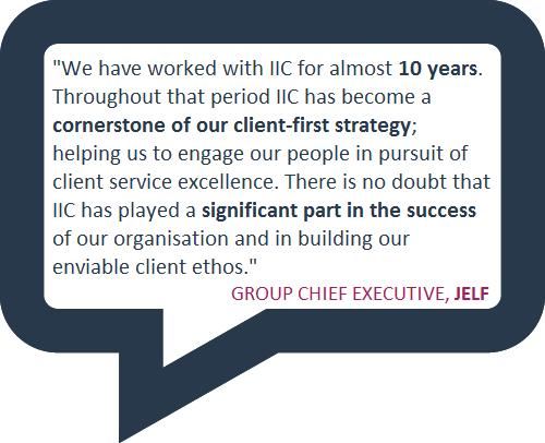 The IIC Award - proof that customers are at the heart of your organisation Reach our standard and we will accredit you with an Investor in Customers Award bronze, silver or even the exceptional gold