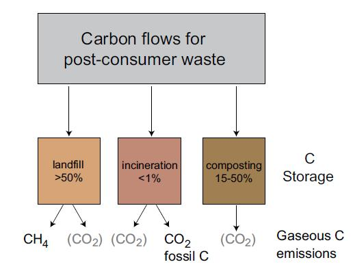Carbon storage Treatment options differ also with respect to how