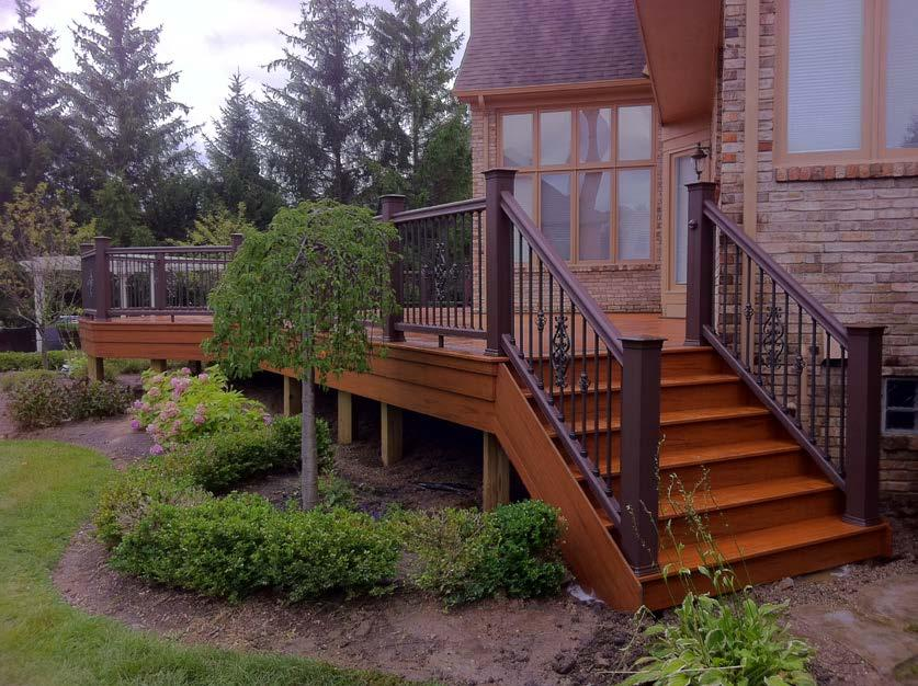 RESIDENTIAL WOOD DECK CONSTRUCTION GUIDE Based on The 2009 Michigan Residential Code Revised March 19, 2015 The
