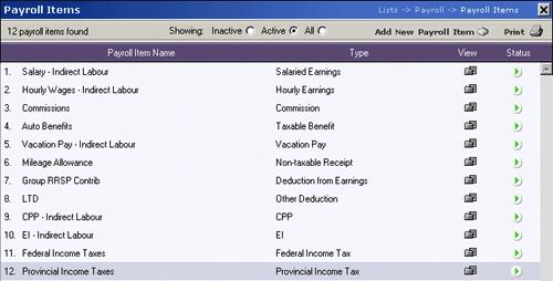 SETTING UP YOUR PAYROLL In this section we will be discussing how to setup your payroll information in Easybooks.