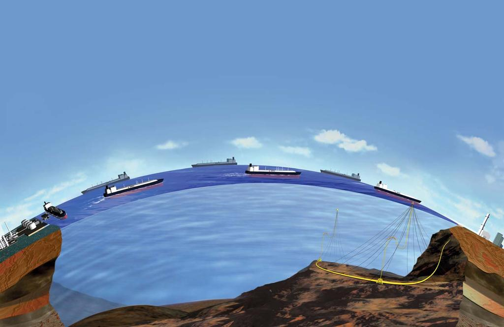 Energy Bridge is a Flexible, Floating Pipeline Initial fleet of three vessels can
