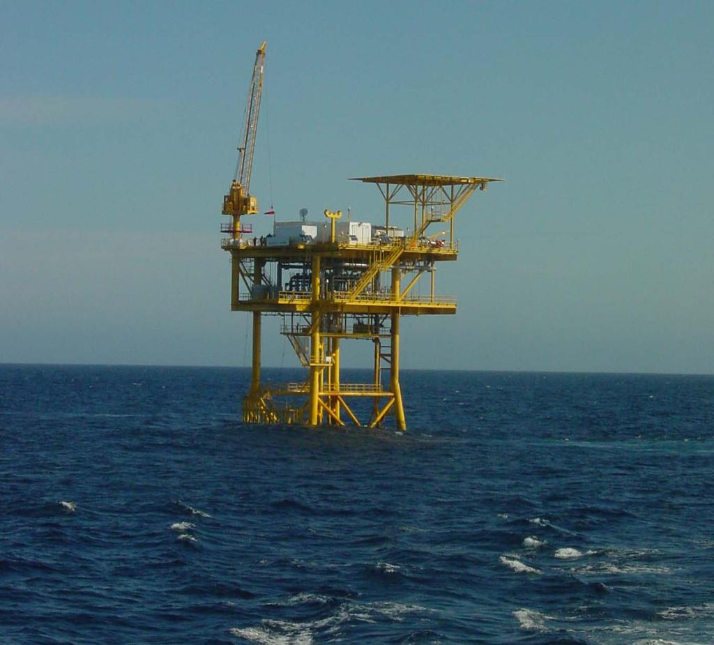 Gulf Gateway required a metering platform given its dual connection to the Sea