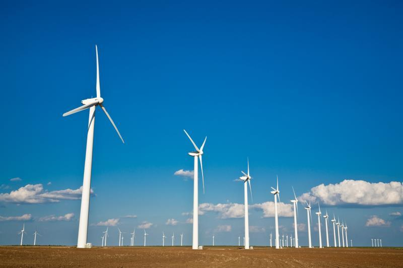 Wind Power Wind is caused by uneven heating of the earth's surface by the sun Wind turbines use blades to collect