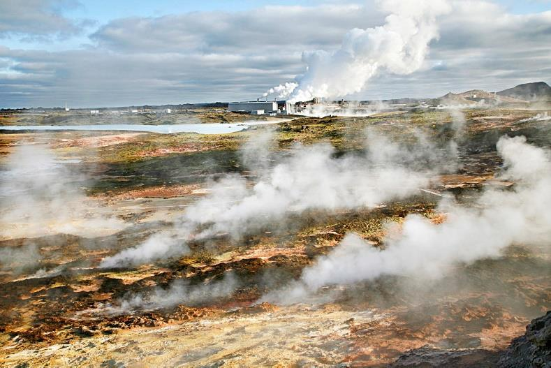 Geothermal Most geothermal resources are near tectonic plate