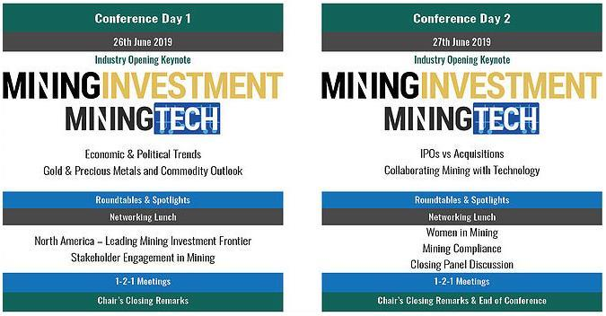 Mining Investment Events