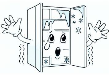 When the door is opened, warm, humid air (moisture) is allowed in the freezer resulting in frost. 3.