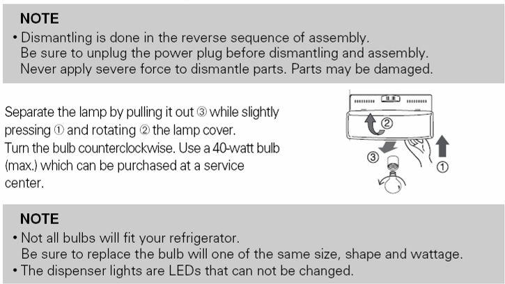 If door switch is ok, replace the light bulb.