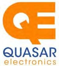 Quasar Electronics Limited PO Box 6935, Bishops Stortford CM23 4WP, United Kingdom Tel: 01279 467799 E-mail: sales@quasarelectronics.co.uk Web: quasarelectronics.co.uk All prices INCLUDE 20.0% VAT.