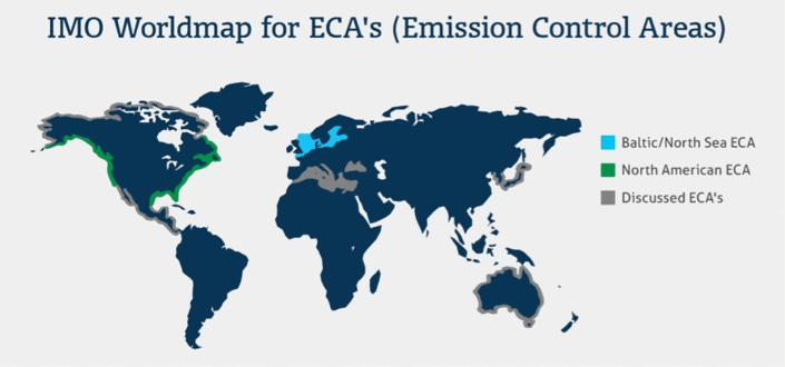 70% AN AVERAGE OF 5000 SHIPS TRADE IN THE EUROPEAN SECA ONLY * ESN survey - 2013 Plans of shipowners: how to meet SECA requirements?