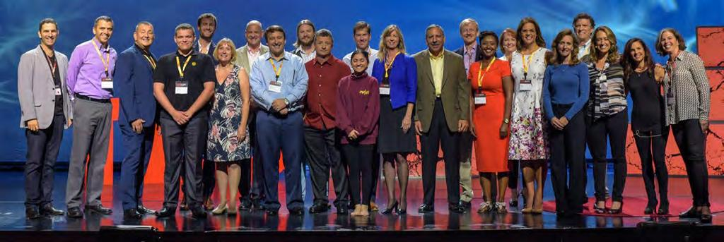 Empowered People 3.3 Diversity & Inclusion A spirit of inclusiveness permeated the first TED@UPS event, held in 2015 as a platform for employees to share ideas.