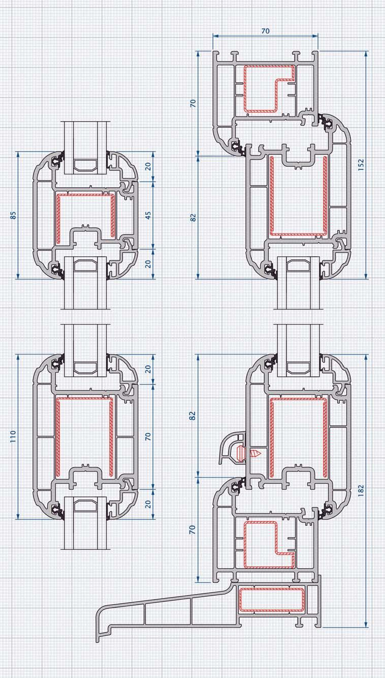 70mm Windows And Doors Specification Guide Pdf Unit1a Creating The Alu Block Diagram Attachment Test Results Door Options Single Open In Or Out Fanlights Sidelight Frames