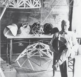 Figure 4.3 Buckminster Fuller s geodesic dome. Black Mountain College.