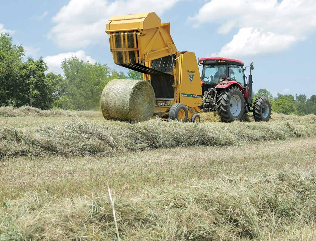 2018 Balers Pdf Vermeer Wiring Harness Designed For Producers Who Harvest Primarily Dry Hay But Also Want The Ability To Bale Silage