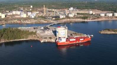 Stockholm LNG shipping,