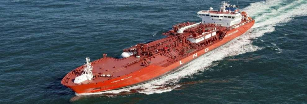 Coral Methane 7,500 cbm LNG/LPG/Ethylene carrier Ship designed in line with OCIMF standards Ship designed to berth at both