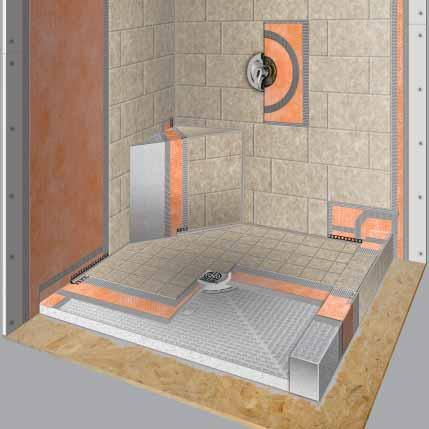 PRODUCT U0026 ORDERING INFO The Ordering Information For The Schluter  Shower  System And Schluter