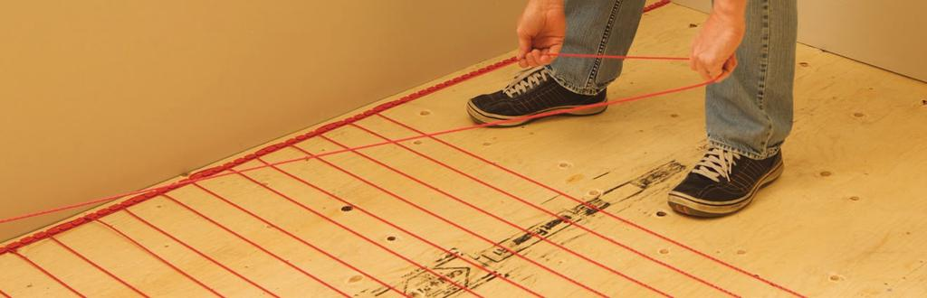Cable Electric Floor Heating Systems Installation Guide Pdf