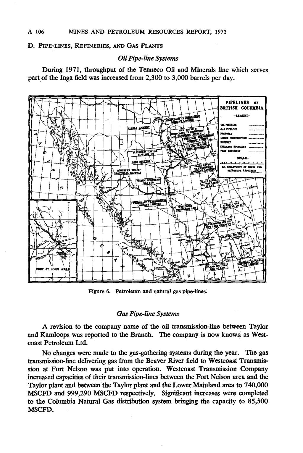 Minister Of Mines And Petroleum Resources Pdf Midland 1165 Diagram 18 19 805 A 106 Mnes Report 1971 D