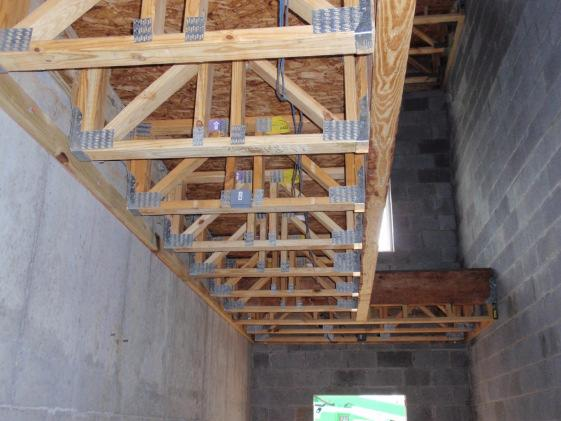 Elevator Shaft 1 hour wood frame One hour typically required for 3 story Type VA or VB building.