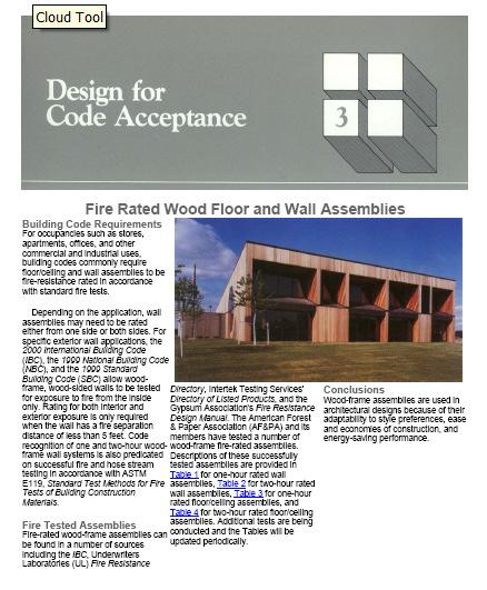 Resources for Fire Rated Assemblies Tested Assemblies DCA3 and
