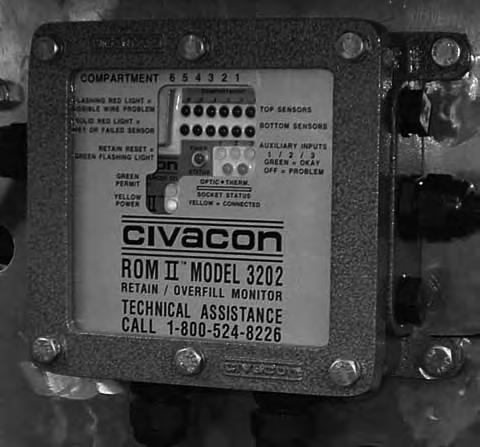 Section 5 Overfill Protection Pdf. The Rom Ii Overfill Detection System Is Manufactured To Deliver Years Of Worryfree Performance. Wiring. Civacon Thermo Wiring Diagram 7 Wire Plug At Scoala.co