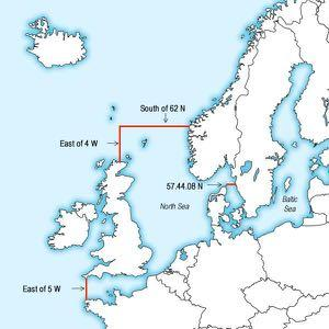 Emission control area Baltic Sea, North Sea and English Channel Sulphur limit of 0,1% effective from 1.