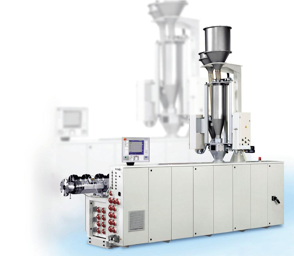The 36D Process Concept Opens up New Potential Pipe Extrusion. Anew process concept increases the melt throughput and therefore the productivity of single-screw extruders.