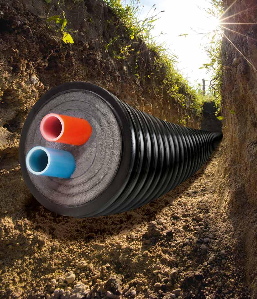 Pre Insulated Pipe Overview Easy To Install Cost Effective Energy Conduit Wiring Futureproof System
