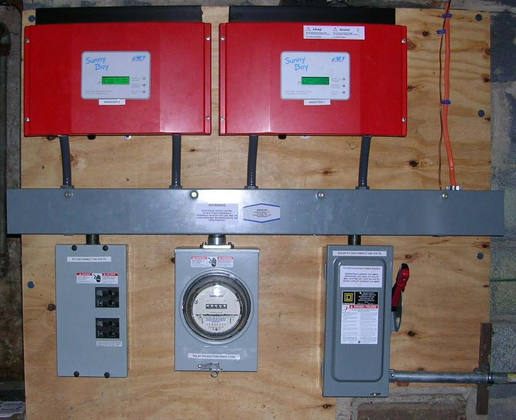 Safety Considerations For Photovoltaic Systems Pdf Tnb 3 Phase Meter Fuse Box