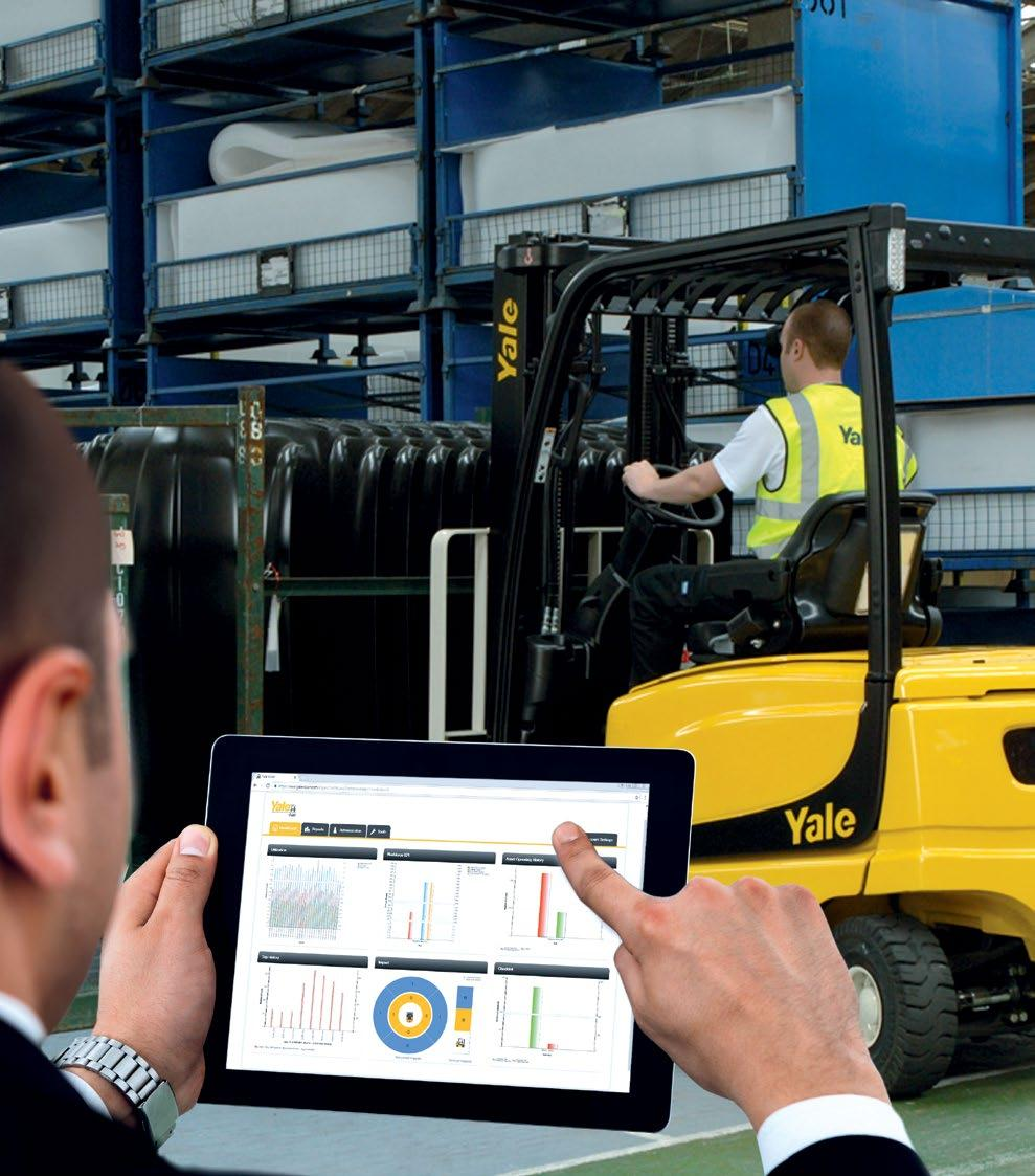 Electric Lift Trucks The Complete Range Pdf Yale Erc040 Wiring Diagrams Ensure Maximum Productivity From Your Truck Investment A Fleet Is Significant