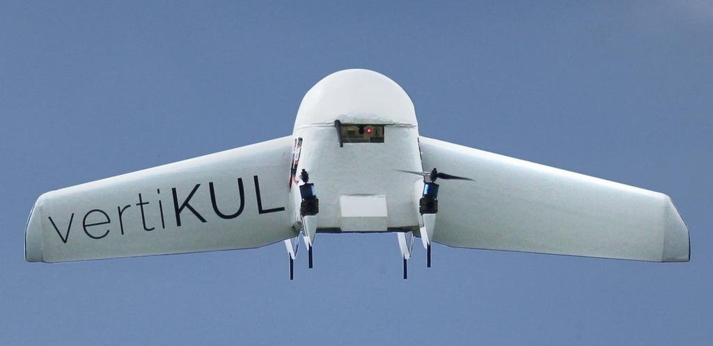 Design and control of an unmanned aerial vehicle for