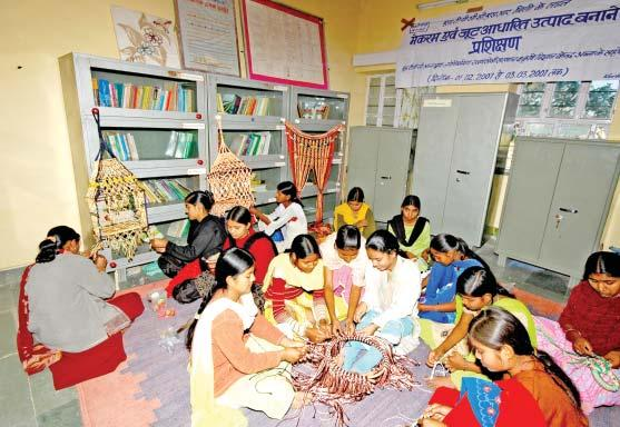 Knitting and embrodiery training to village girls SATLUJ JAL VIDYUT NIGAM LIMITED Activities relating to Women Employees Representation of women are below:- Total Employees Number of Percentage of