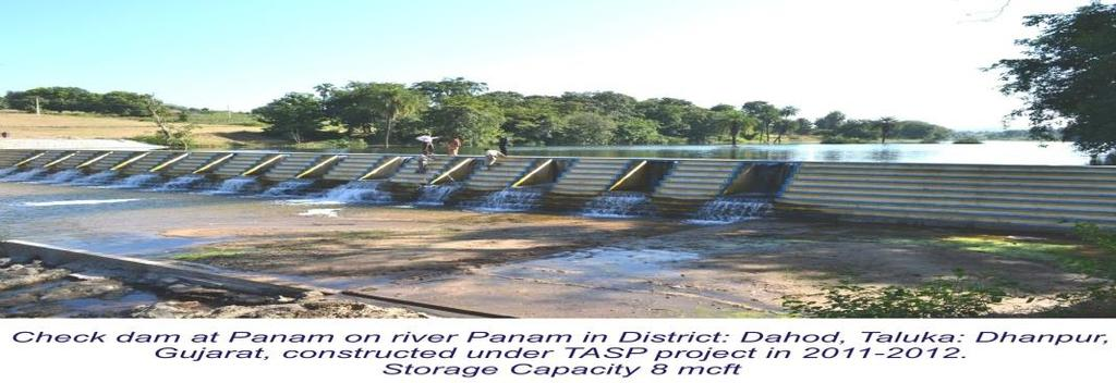 access to irrigation @ about Rs 35,000 per annum / HH; Total water storage