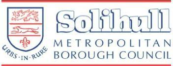 SOLIHULL METROPOLITAN BOROUGH COUNCIL GRIEVANCE PROCEDURE (1) This policy sets out the terms of agreement reached by those participating in the Council s Consultation and Negotiating Framework.