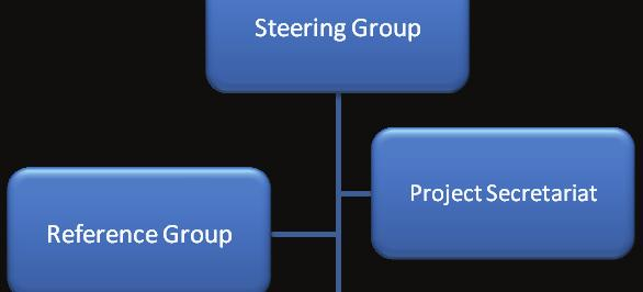 Organization chart for the project The green challenge short and long term!