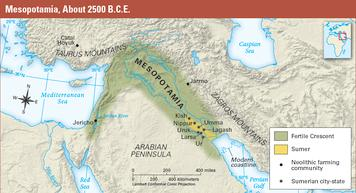 mesopotamia geography and climate