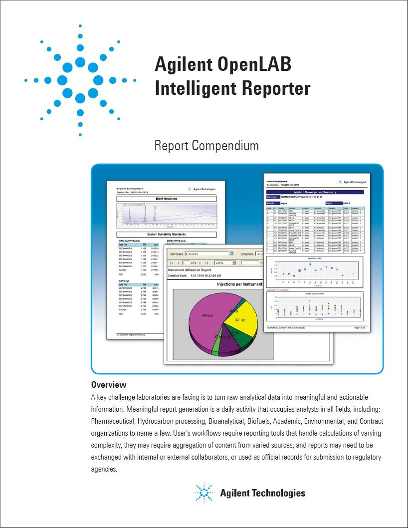 OpenLAB CDS Intelligent Reporting - PDF