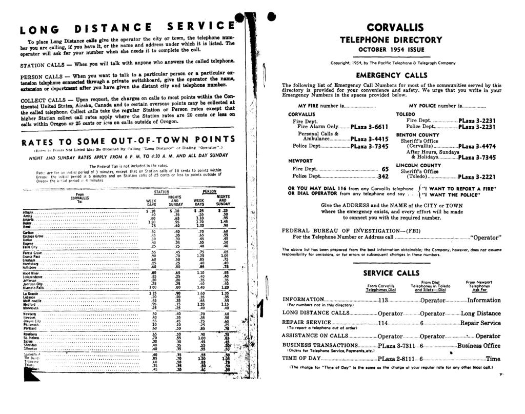 Corvallis Telephone Directory 1 L Y Roper Dryer Parts Diagram 864 X 1095 16 Kb Png Excellent Long Distance To Place Calla Give The Operator City Or Town