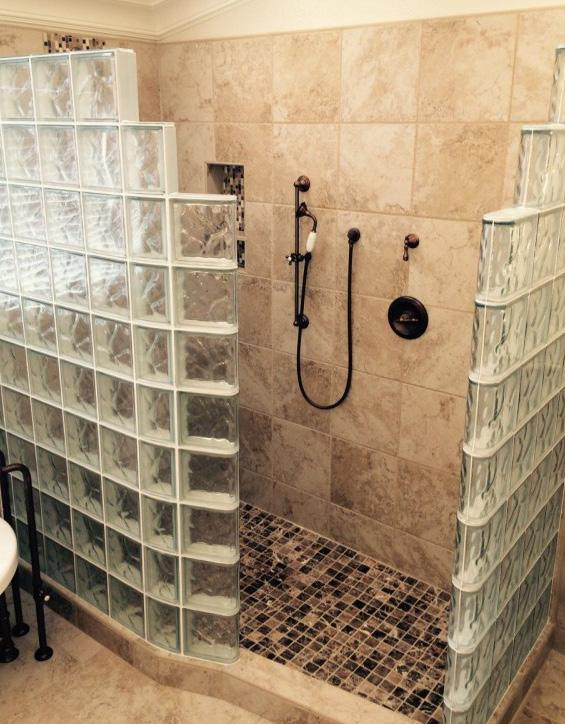 Innovative, Easy to Install Glass Block Shower Kits - PDF